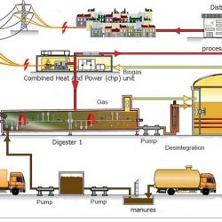 فرآیند تولید انرژی از بیوگاز