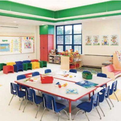 رنگ مناسب فضاهای آموزشی