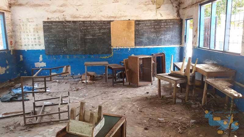عوامل آسیب زا در مدارس